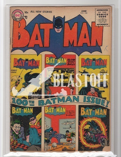BATMAN #100 1956 MARK WAID COLLECTION-VG
