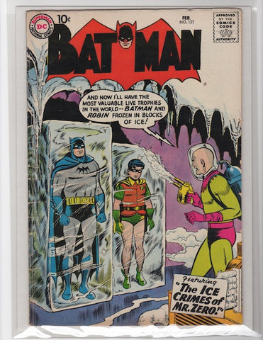 Batman #121 1959 Mark Waid Collection