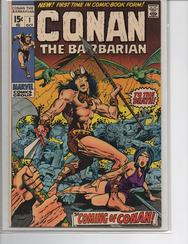 CONAN #1 1ST APPEARANCE AND ORIGIN MARVEL (1970)-NM