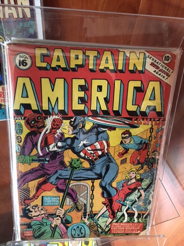Captain America Comics #16 Golden Age (1942)
