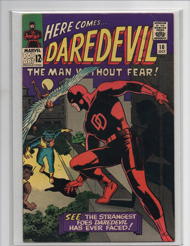 Daredevil #10 1st Appearance Cat-Man Alan Brennert