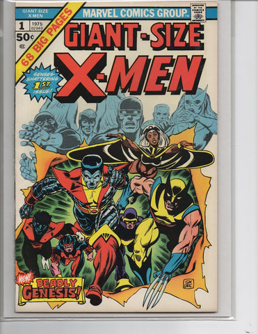 GIANT SIZE X-MEN #1 1ST APPEARANCE OF THE NEW X-MEN-NM-