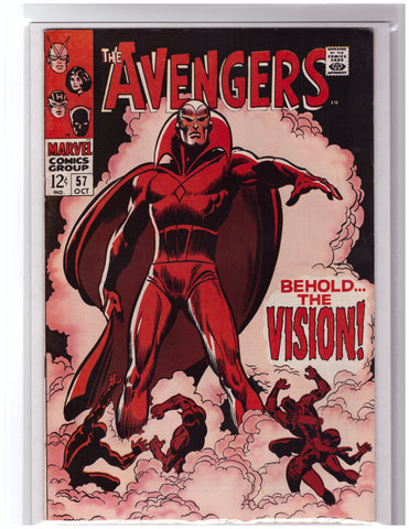 AVENGERS #57 1ST APPEARANCE OF VISION-VF/NM