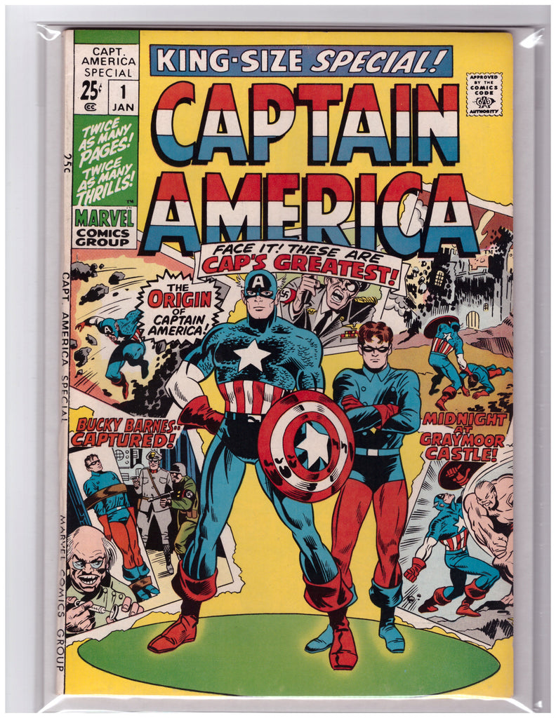 Captain America Annual #1 Origin Retold