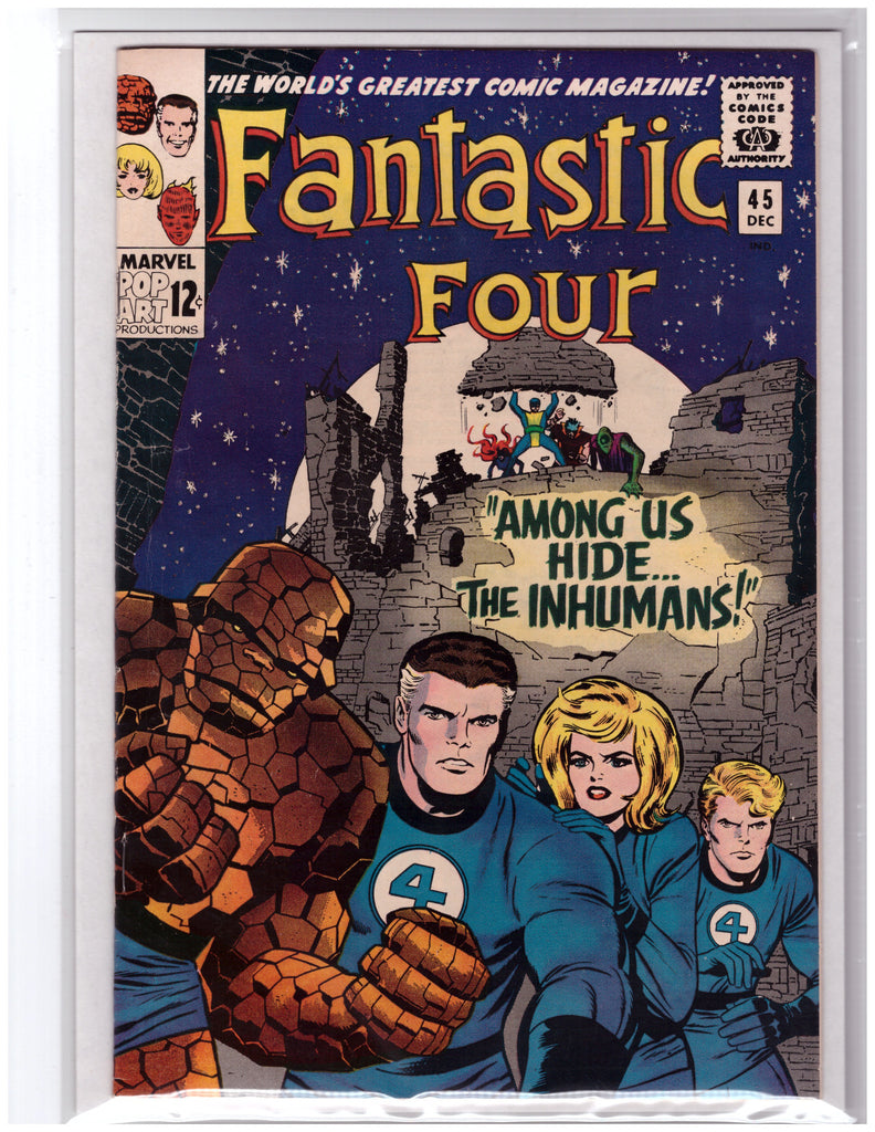 FANTASTIC FOUR #45 1ST APPEARANCE OF THE INHUMANS-VF/NM
