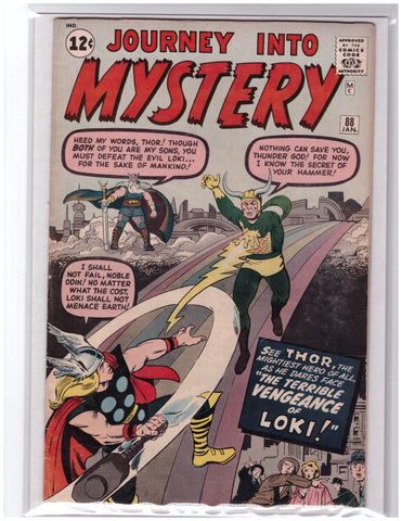 JOURNEY INTO MYSTERY #88 THOR STAN LEE JACK KIRBY-FINE+