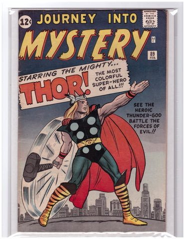 JOURNEY INTO MYSTERY #89 THOR ORIGIN RETOLD-FINE+
