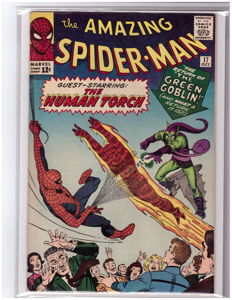 AMAZING SPIDER-MAN #17 2ND APPEARANCE GOBLIN