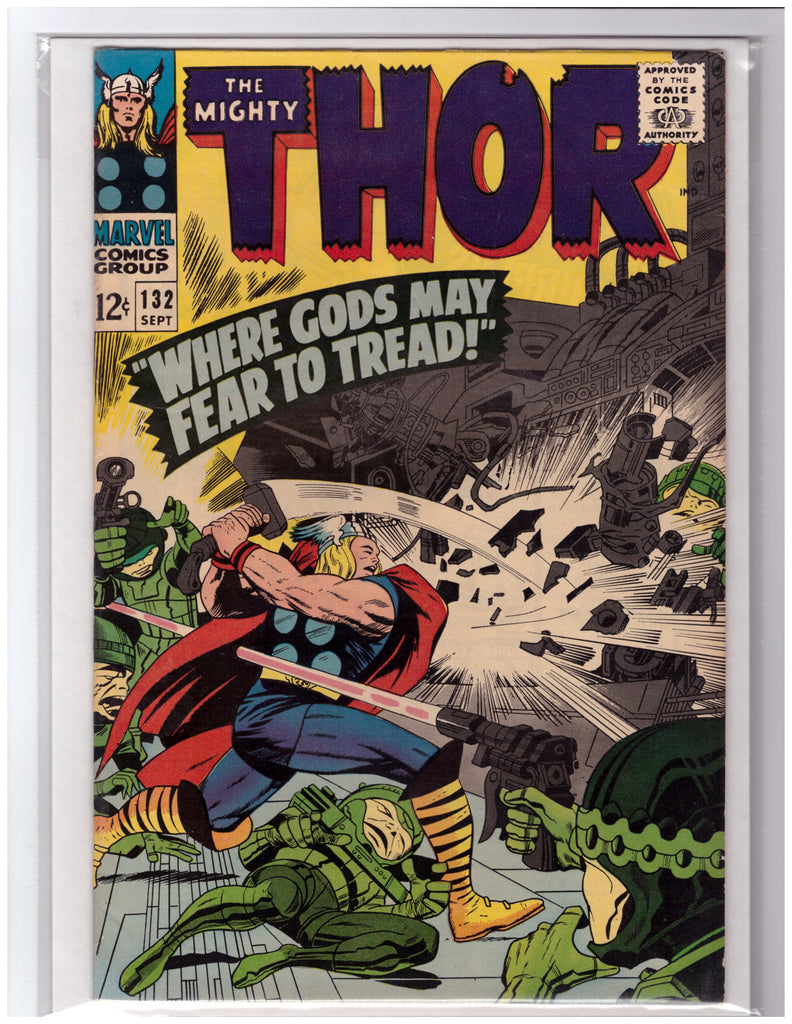 THOR #132 1ST APPEARANCE EGO THE LIVING PLANET-VF/NM
