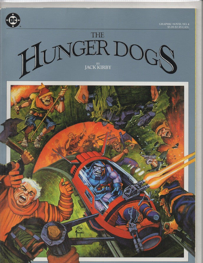 HUNGER DOGS DC GRAPHIC NOVEL (1985) JACK KIRBY-NM+