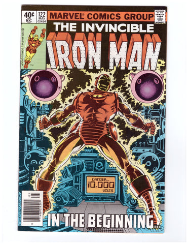 INVINCIBLE IRON MAN #122 VF/NM - BLASTOFF COMICS