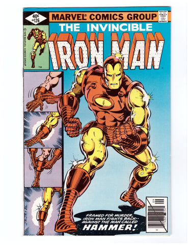 INVINCIBLE IRON MAN #126 NM ROMITA JR - BLASTOFF COMICS