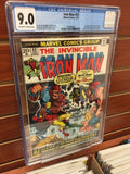 Iron Man #55 1st Appearance Thanos Drax Marvel CGC 9.0 VF/NM