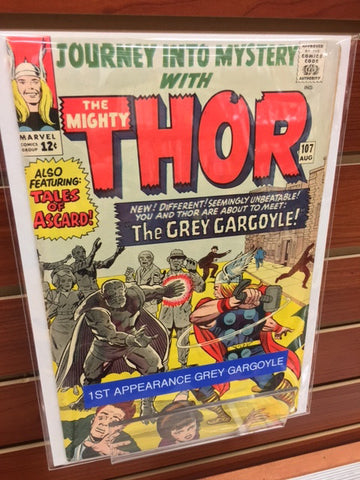 JOURNEY INTO MYSTERY #107 1ST APPEARANCE GREY GARGOYLE-VF