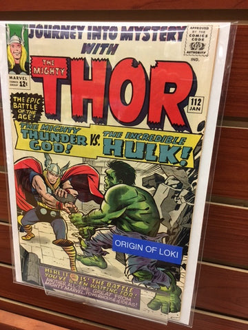 JOURNEY INTO MYSTERY THOR #112 HULK AVENGERS STAN LEE JACK KIRBY-NM