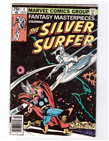 FANTASY MASTERPIECES: SILVER SURFER #4 (1980) VF+/NM - BLASTOFF COMICS