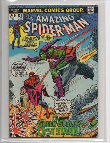 Amazing Spider-Man #122 Death Of Green Goblin
