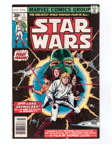 STAR WARS #1 NM 1ST PRINT - BLASTOFF COMICS