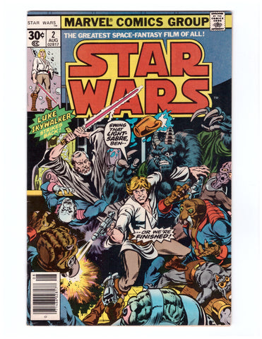 STAR WARS #2 NM - BLASTOFF COMICS