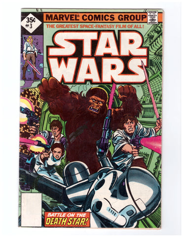 STAR WARS #3 FINE REPRINT - BLASTOFF COMICS