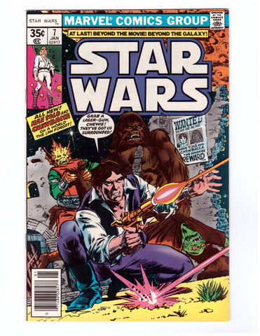STAR WARS #7 NM 1ST PRINT - BLASTOFF COMICS