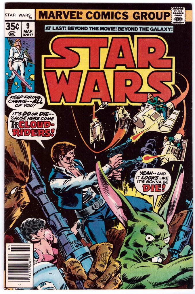 STAR WARS #9 NM 1ST PRINT - BLASTOFF COMICS