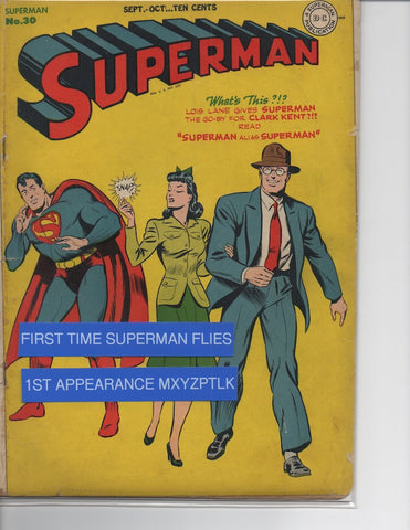 SUPERMAN #30-VG-1ST APPEARANCE MR. MXYZTPLK-MARK WAID COLLECTION