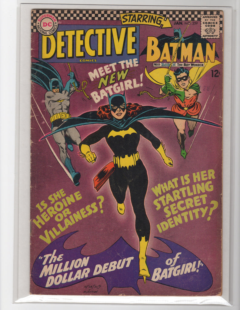 DETECTIVE COMICS #359-1ST APPEARANCE OF BATGIRL-MARK WAID COLLECTION