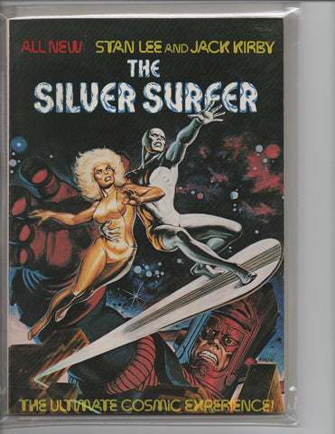 SILVER SURFER FIRESIDE TP-VF/NM JACK KIRBY STAN LEE
