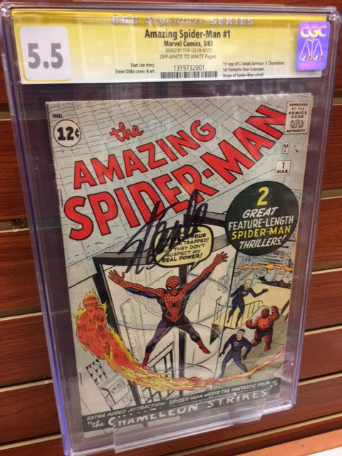 Amazing Spider-Man #1 1963 CGC Signature Series