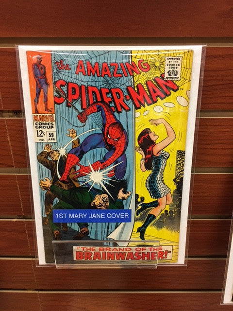 AMAZING SPIDER-MAN #59 (1968) 1ST MARY JANE COVER 1ST CAMEO KINGPIN