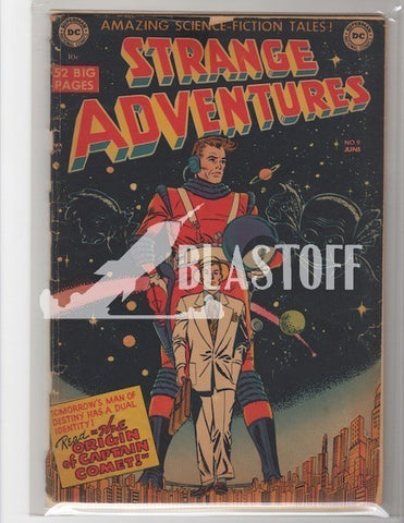 STRANGE ADVENTURES #9 1ST CAPTAIN COMET-MARK WAID COLLECTION