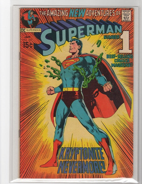 SUPERMAN #233 NEAL ADAMS-MARK WAID COLLECTION