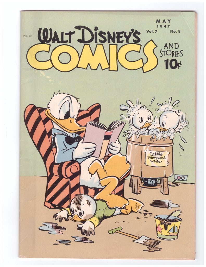 WALT DISNEY'S COMICS AND STORIES #80 VF WALT KELLY-CARL BARKS DONALD DUCK