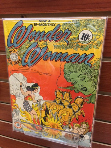 WONDER WOMAN #3 GOLDEN AGE (1943) WILLIAM MOULTON MARSTON-FINE+/VF