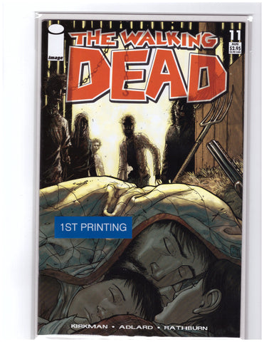 Walking Dead #11 1st Printing Robert Kirkman NM+ 9.8