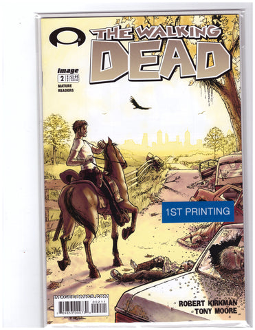 Walking Dead #2 1st Printing NM 9.0 Image Comics Kirkman