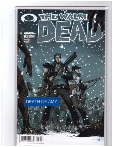Walking Dead #5 1st Printing NM+ 9.8 Death Amy Kirkman