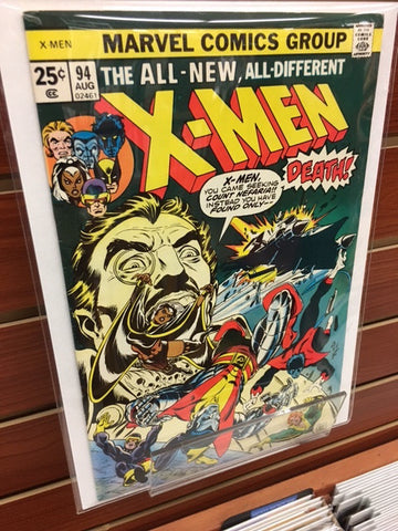 UNCANNY X-MEN #94 CHRIS CLAREMONT LE WEIN-VF+/NM