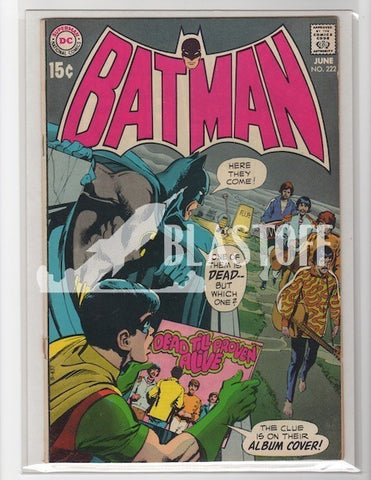 Batman #222 Beatles Mark Waid Collection