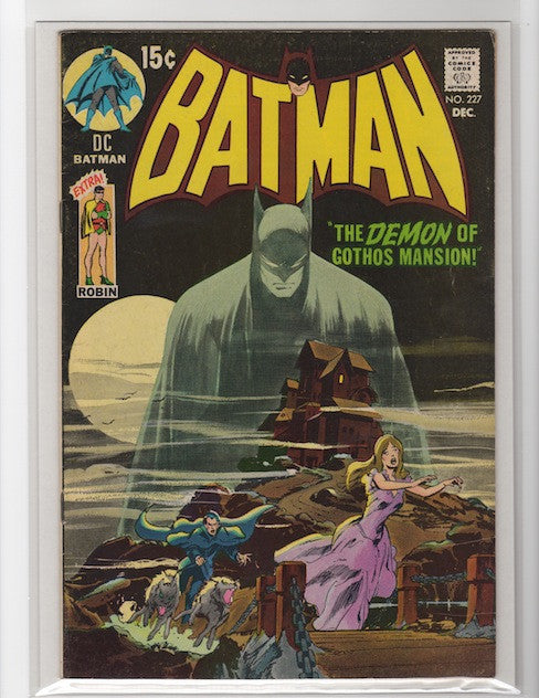 Batman #227 Neal Adams Mark Waid Collection