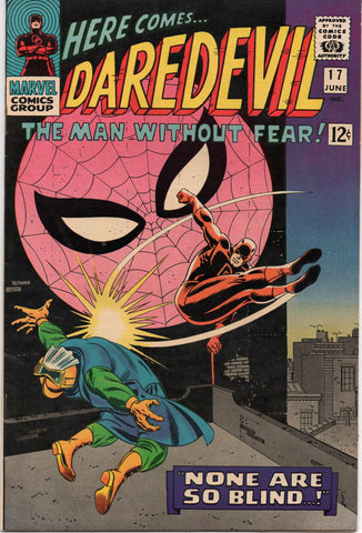 Daredevil #17 (1966) Amazing Spider-Man Appearance