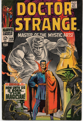 DOCTOR STRANGE #169 1ST PREMIERE ISSUE ORIGIN STORY 1968-FINE+/VF