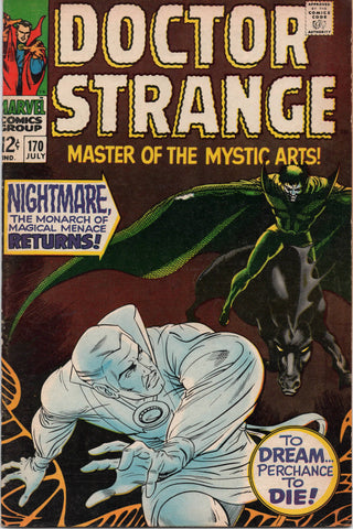 Doctor Strange #170 (1968) Roy Thomas
