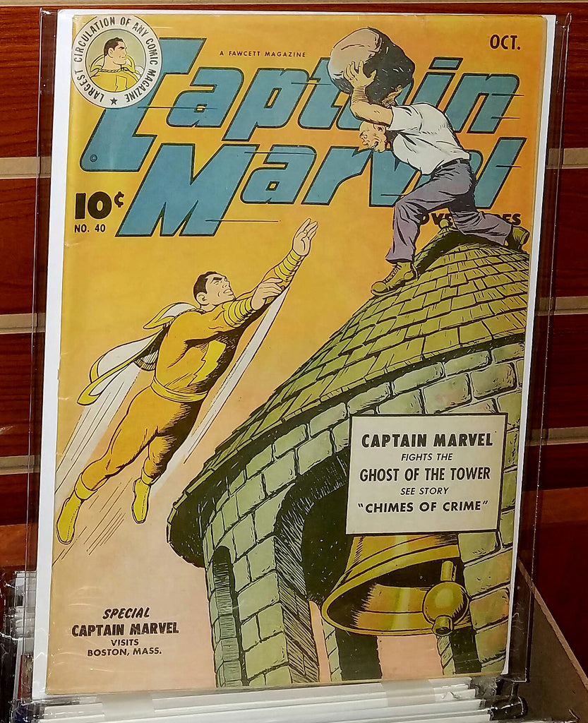 Captain Marvel Adventures #40 (1944) C.C. Beck