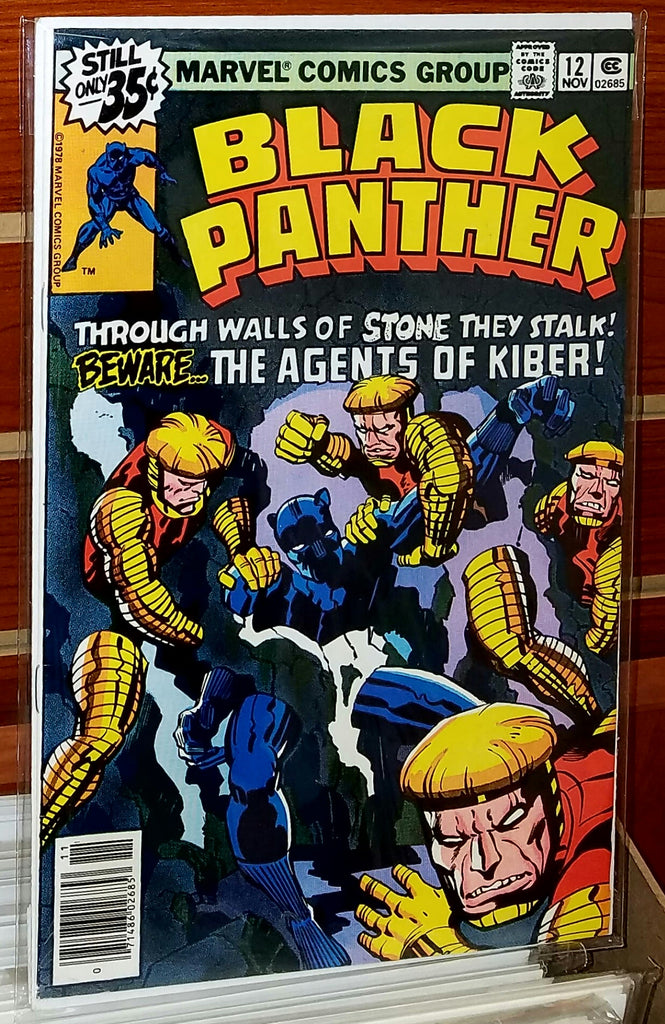 Black Panther #12 (1978) Jack Kirby Cover