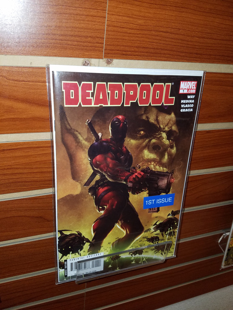 DEADPOOL #1 (2008) CLAYTON CRAIN DANIEL WAY-NM+