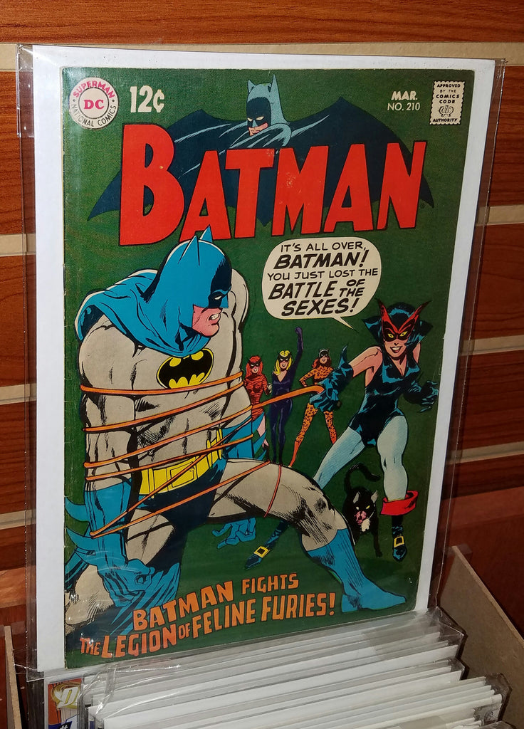 Batman #210 (1969) Neal Adams Cover