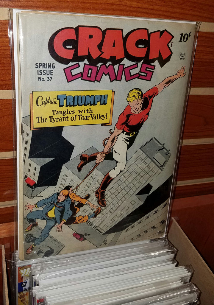 CRACK COMICS #37 (1945) GOLDEN AGE-VF-