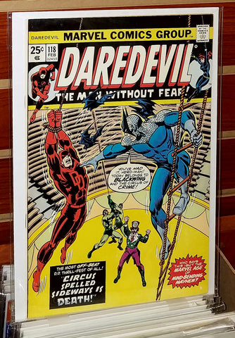 Daredevil #118 (1974) 1st Appearance Blackwing